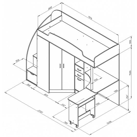Схема сборки теремок 1.