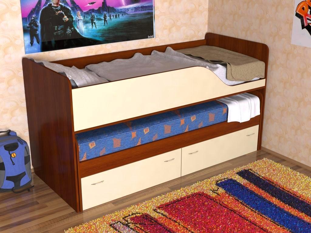 Кровати двухъярусные смотреть фото