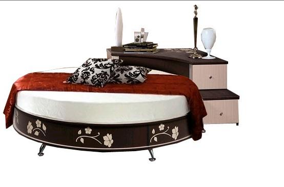 Белфан мебель. кровать круглая - Фото мебели. Купить шкаф, Массажное