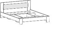 05.106 Кровать 1600*2000 с мягким элементом (без основания)