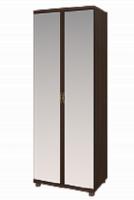 10 Шкаф для одежды с зеркалом  2-х дверный Ирис