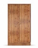 Шкаф 2-х дверный Юниор сосна тонированная