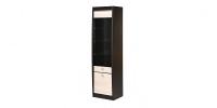 Шкаф 2-х дверный со стеклом СТЛ.078.04 Дуб феррара/Ясень
