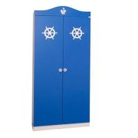 Шкаф 2-х дверный Captain blue