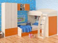 Соня 3 шкаф+полка Фабрика Мебели