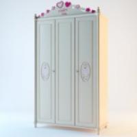 Шкаф 3-х дверный Паолина