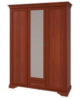 Шкаф 3-х дверный с зеркалом №6.2 ЖК21