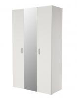 Шкаф 3 х дверный с зеркалом Мишель ИД 01.379