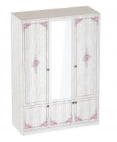 Шкаф 3-х дверный с зеркалом Эльза