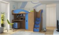 Детская Кровать чердак Мики 4 РМК Модульная