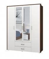 Шкаф 4х дверный Моника 1 ИД 01.127