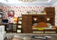 Итальянский Мотив-14 Модульная детская комната