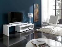 Тумба TV-600 белый глянец