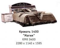 Кровать 1400 Магия КМК 0400