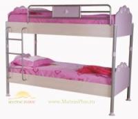 Кровать 2-х ярусная (спальное место 90*200) flower