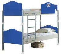 Кровать 2-х ярусная Captain blue