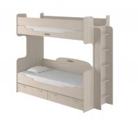 Кровать 2-ярусная Соната 80Х190