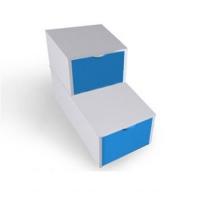 Ступени 2х уровневые с крышками Морячок