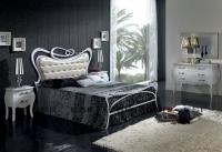Кровать 505 Sofia (160х200)  белая