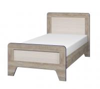 Кровать 90 см с настилом Тайм ИД 01.264