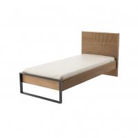 Кровать 900 с настилом Оскар ИД 01.538