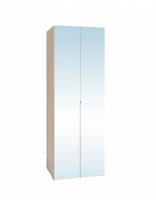Спальня Bauhaus 8 Шкаф для одежды (2 фасада Зеркало)
