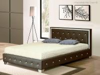 Кровать Cladis (экокожа)