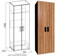 Спальня HYPER Шкаф для одежды 3
