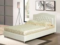 Кровать Laura (экокожа)