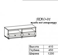 Олимп Тумба под аппаратуру ТАО-01
