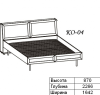 Олимп Кровать КО-04