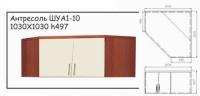 Шкаф книжный ШУА 1-10