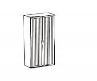 Соната Шкаф для платья и белья ИД 01.61