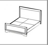 Соната Кровать 2-х спальная