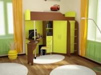 Колизей кровать чердак детская рмк