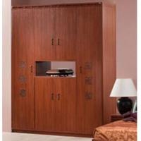 Кэри Голд Шкаф 4-дверный с нишей