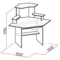 Стол компьютерный (CУ-1)