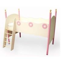 Кровать чердак Принцесса с лесенкой