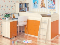 Детская кровать чердак Дюймовочка 1