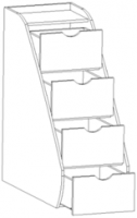 Лестница приставная Ника 3 рмк