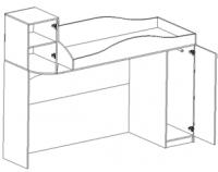 Кровать-чердак Нео 2