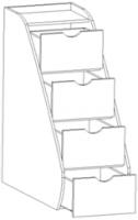 Лестница приставная Нео 2