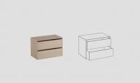 Наполнение шкафа НМ-2 964*550*600