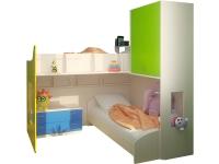 Набор детской мебели для двух детей Лайм