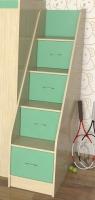 Лестница с ящиками Славмебель