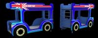 Двухъярусная кровать - АВТОБУС Dreamracer