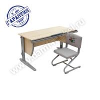Комплект растущей мебели ДЭМИ парта 120 см СУТ-15