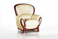 Кресло кожаное Флоренция