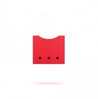 Ящик в стеллаж красный Лайма