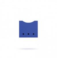 Ящик в стеллаж синий Лайма